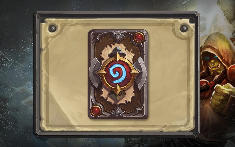 Thrall shaman kártya hátlap