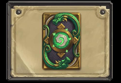 Jade Lotusl kártya hátlap