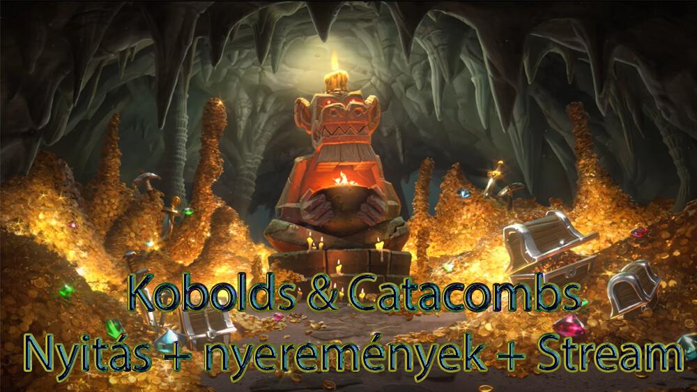December 8. 18:00 - A nagy Kobolds & Catacombs kártyacsomag nyitás