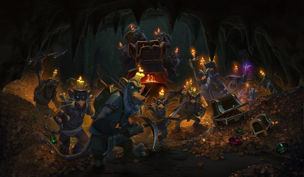 Kobolds & Catacombs megjelenési időpontok