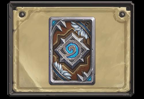 Frostwolf kártya hátlap