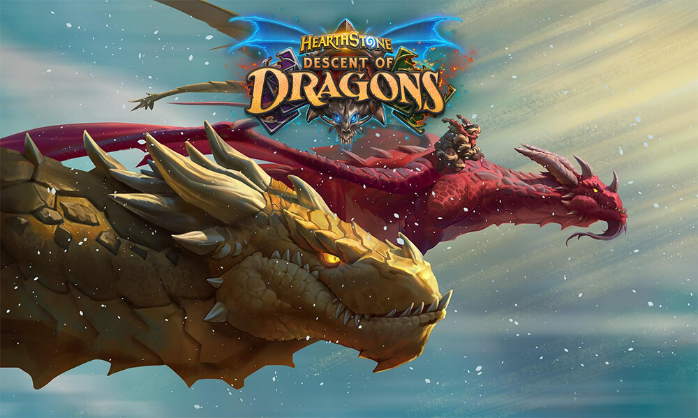 Descent of Dragons Hearthstone