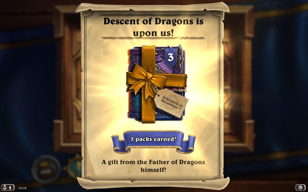 Descent of Dragons kártyacsomagok