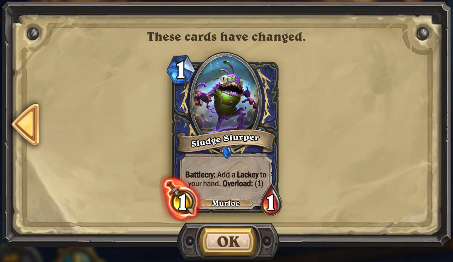 Patch 16.0.5 - Hearthstone nerf