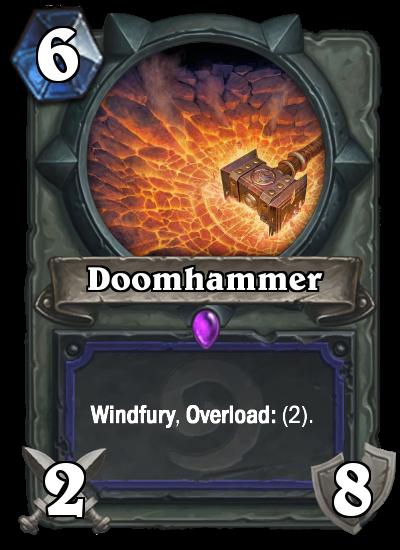 Doomhammer nerf
