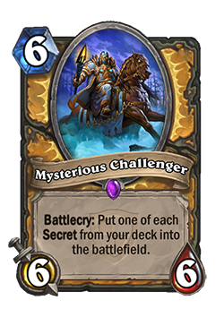 Myterious Challenger