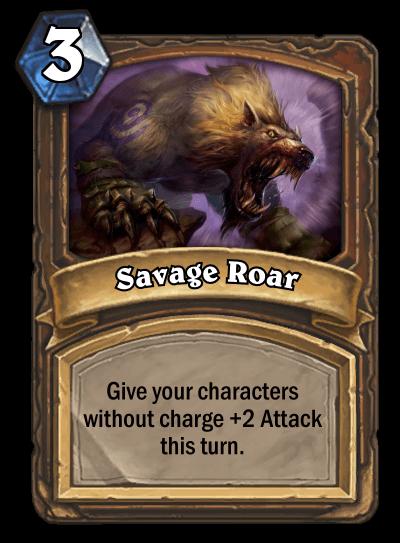 Savage Roar nerf