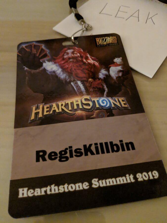 Regis Hearthstone csúcstalálkozó 2019