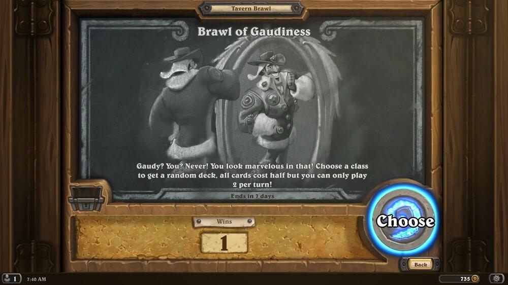 Brawl of Gaudiness