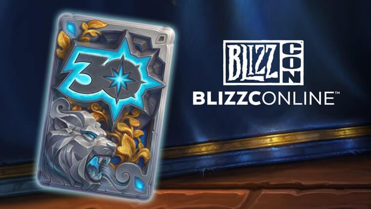 30 éves a Blizzard kártya hátlap