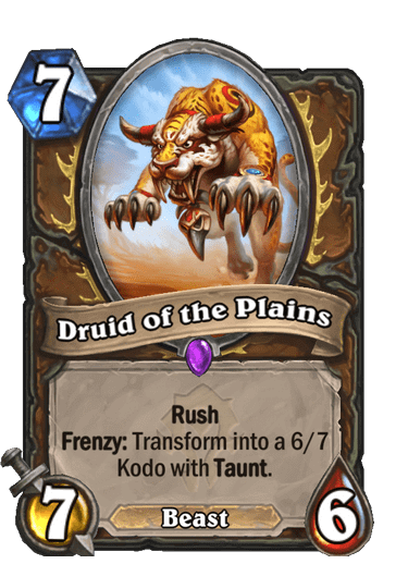 Druid of the Plains