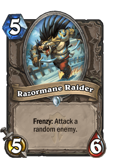 Razormane Raider