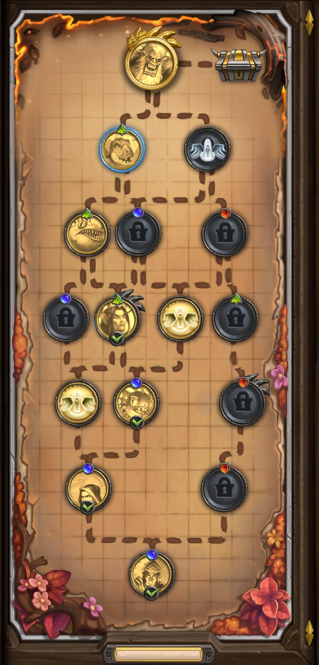 Mercenaries egyik térképe