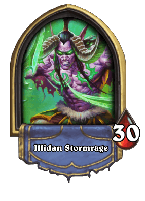 Illidan Stormrage Hearthstone