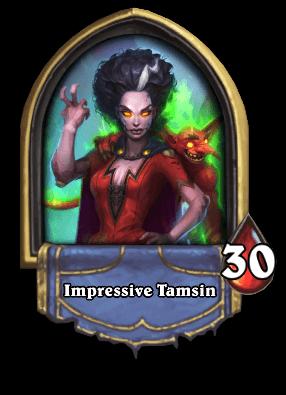 Impressive Tamsin