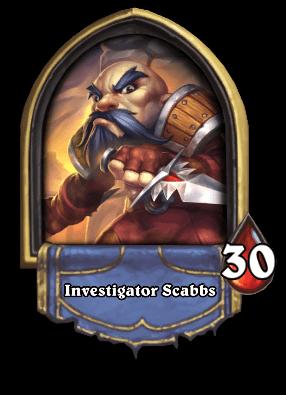 Investigator Scabbs