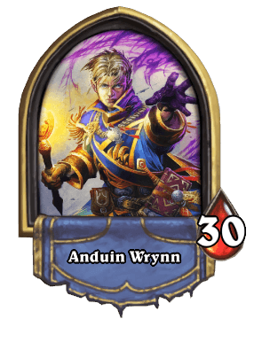 priest Hearthstone hős