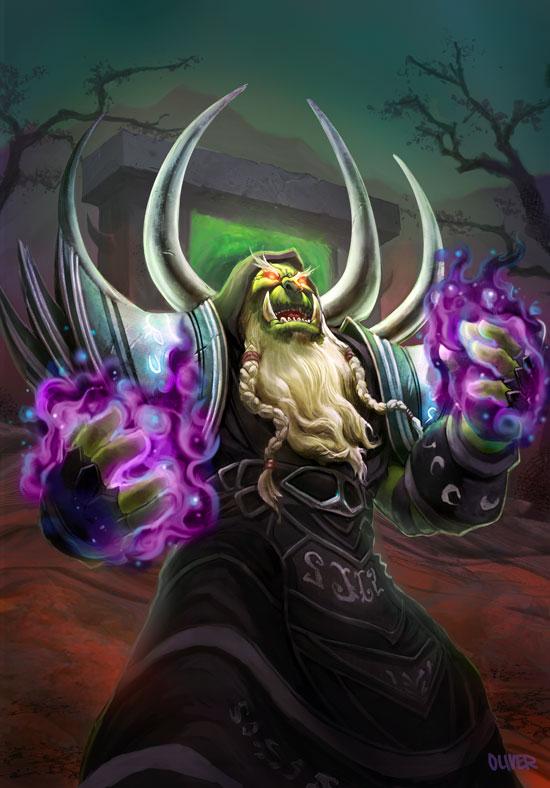 Guldan a warlock