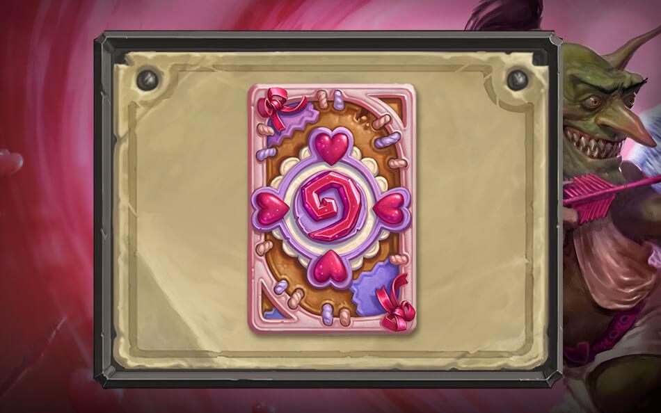 Love is in the Air kártya hátlap