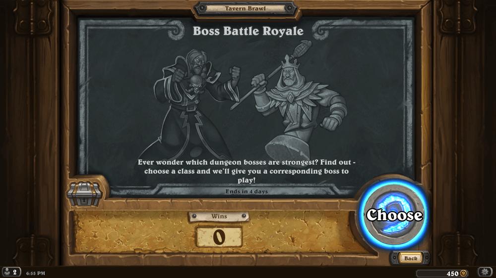 Boss Battle Royale Kocsmai Verekedés