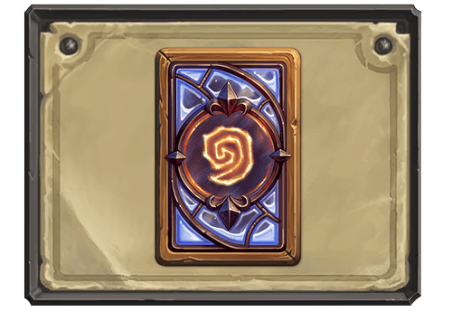 Frostfire kártya hátlap