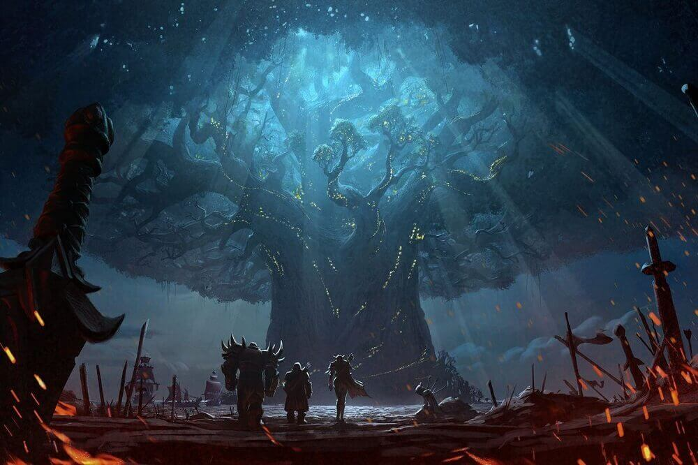 Burning of Teldrassil