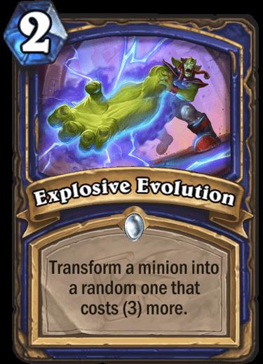 Explosive Evolution
