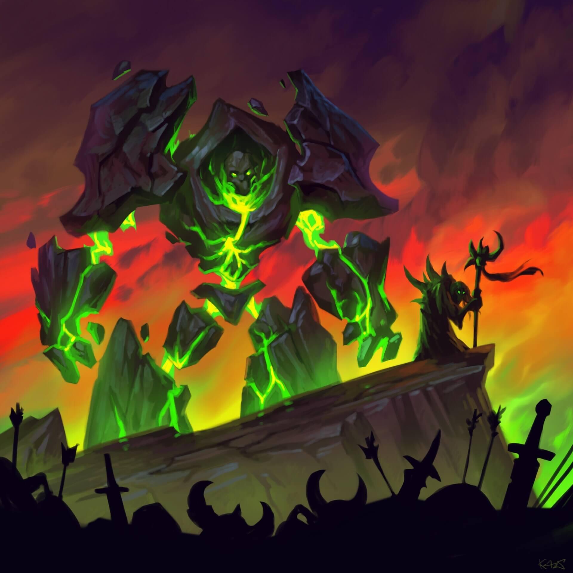 Turover warlock artwork