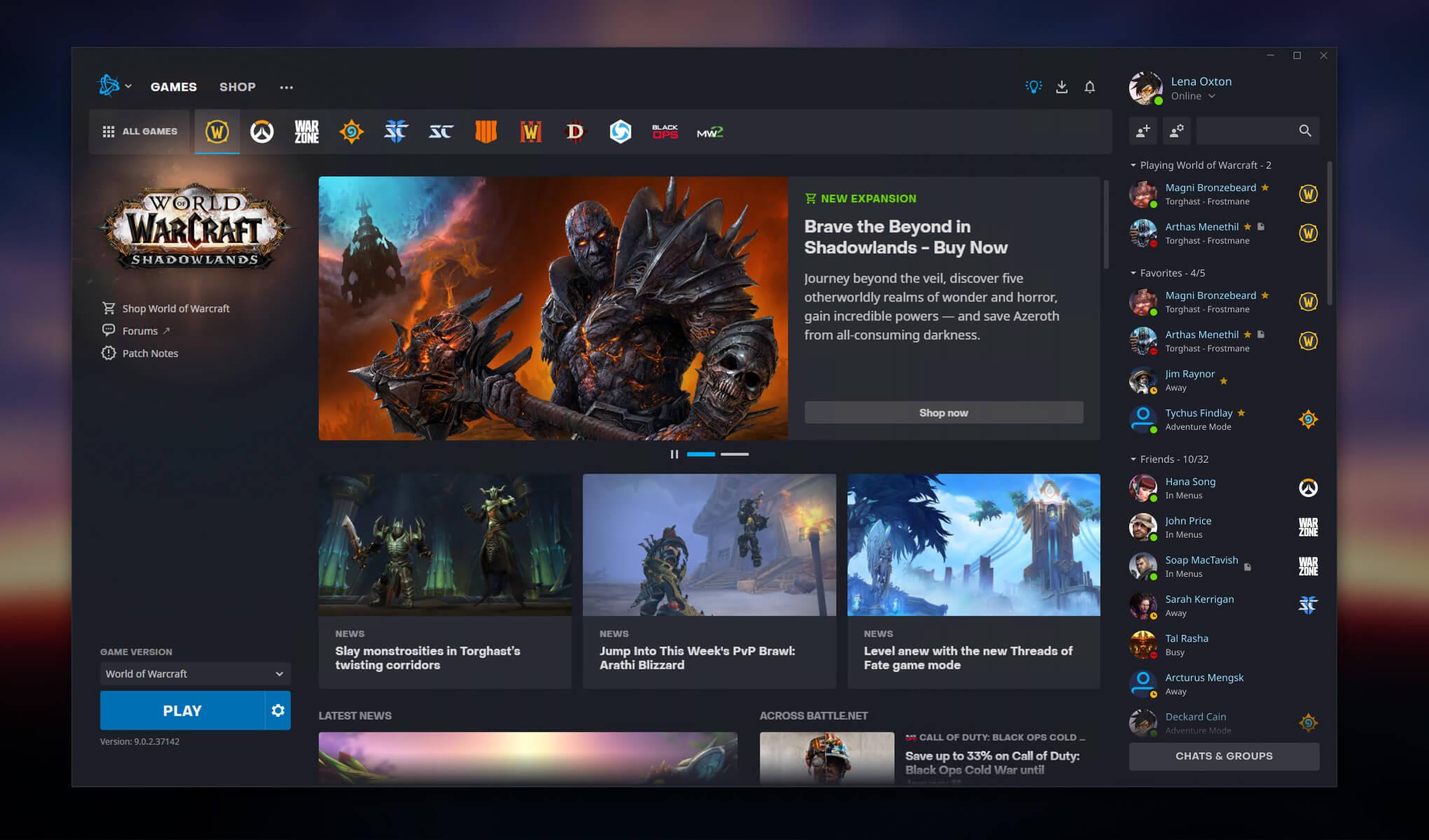 Új Battle Net App