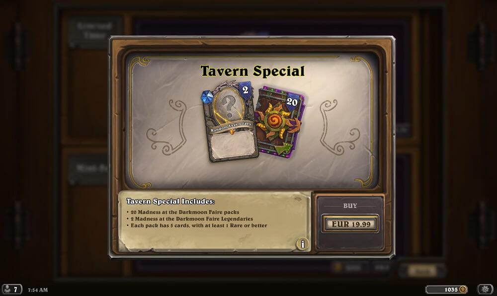 Tavern Special
