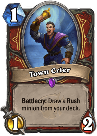 Town Crier hibás