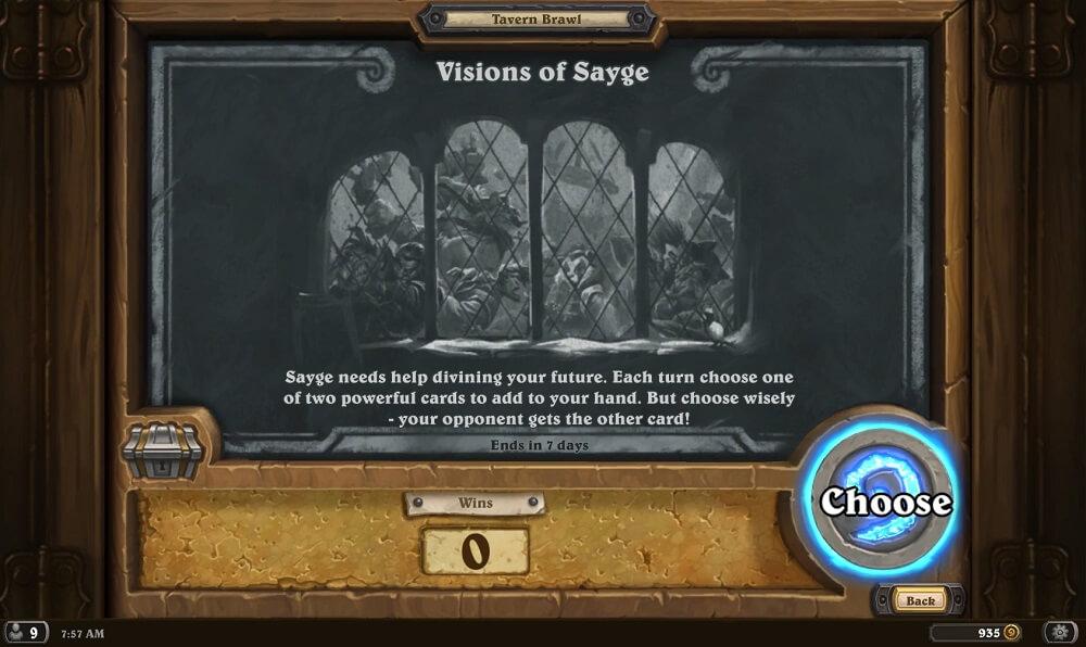 Visions of Sayge Tavern Brawl