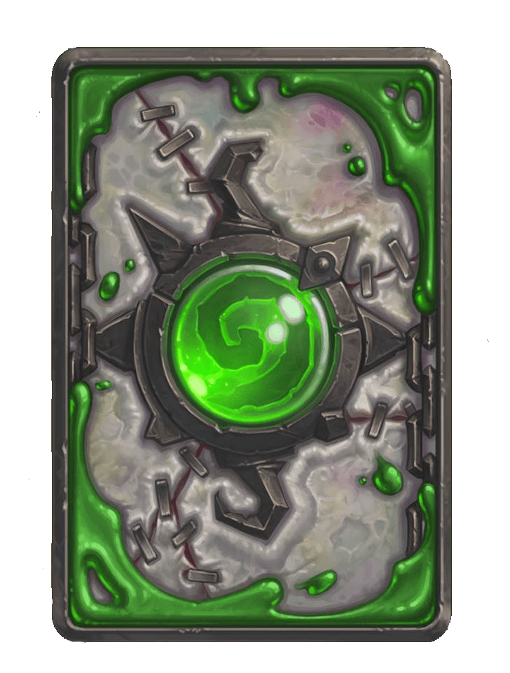 heroic mód naxxramas kártya hátlap