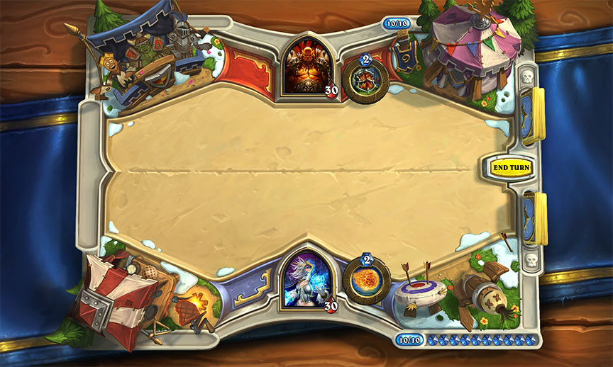 the grand tournament hearthstone harctér