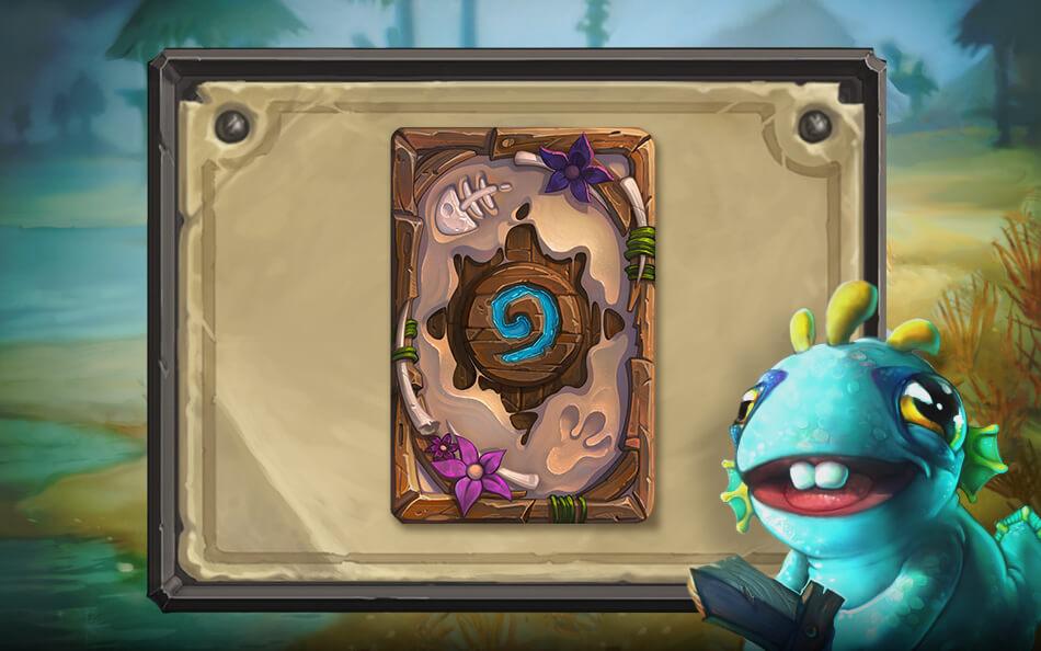 Murloc Tinyfin kártya hátlap