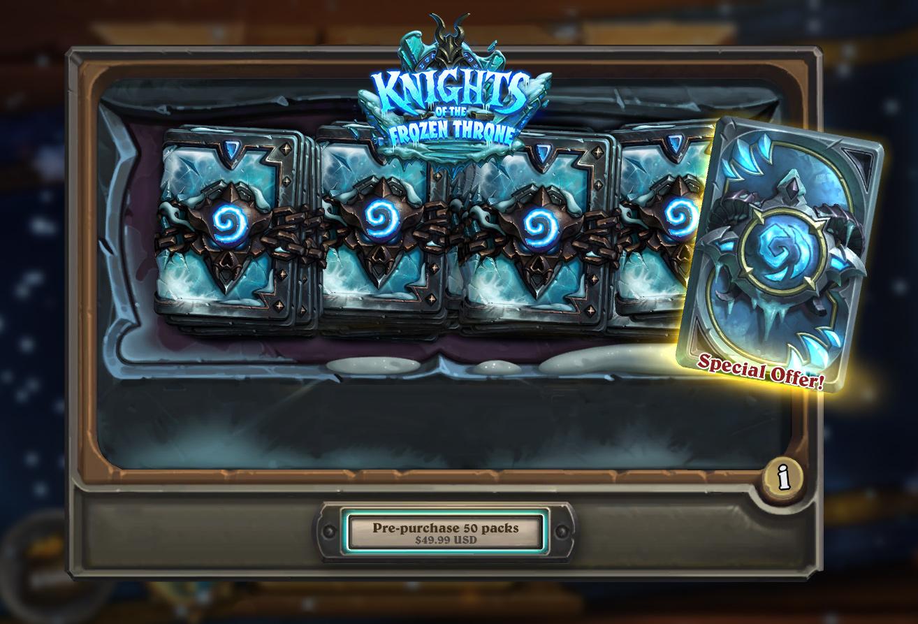 Frozen Throne előrendelési hátlap