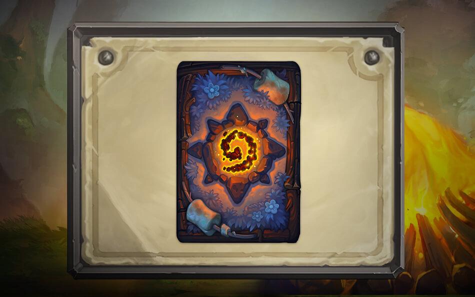 HearthSmore kártya hátlap