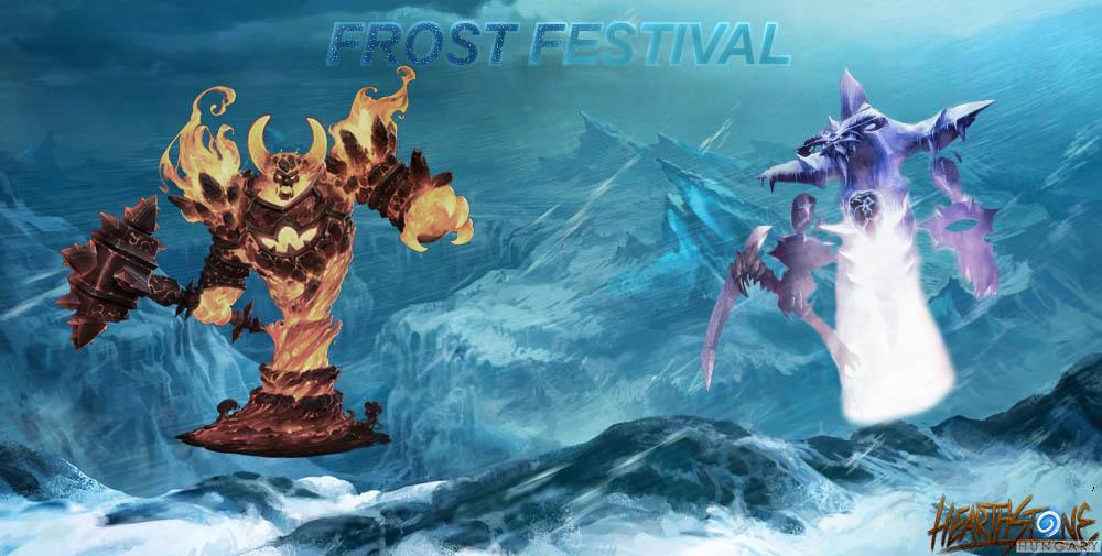 Ingyenes aréna futamok és Frozen Throne kártya csomagok a Frost Fesztivál idején