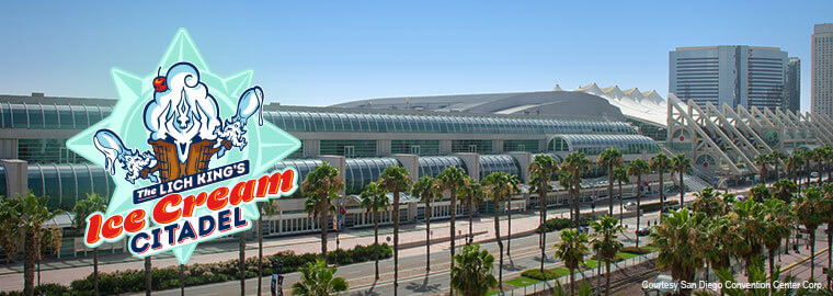 Az Ice Cream Citadel leereszkedik a San Diego Comic Con-ra!