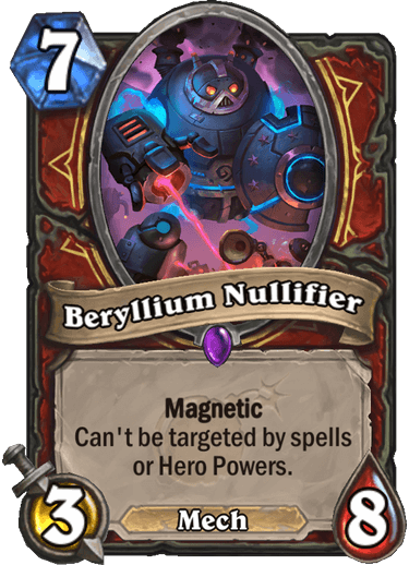 Berylium Nullifier