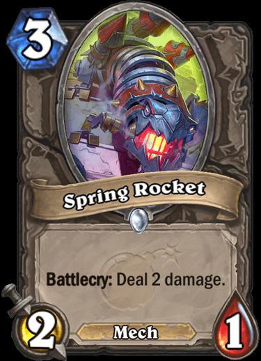 Spring Rocket