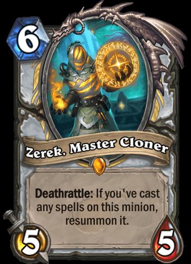 Zerek, Master Cloner
