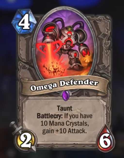 Omega Defender