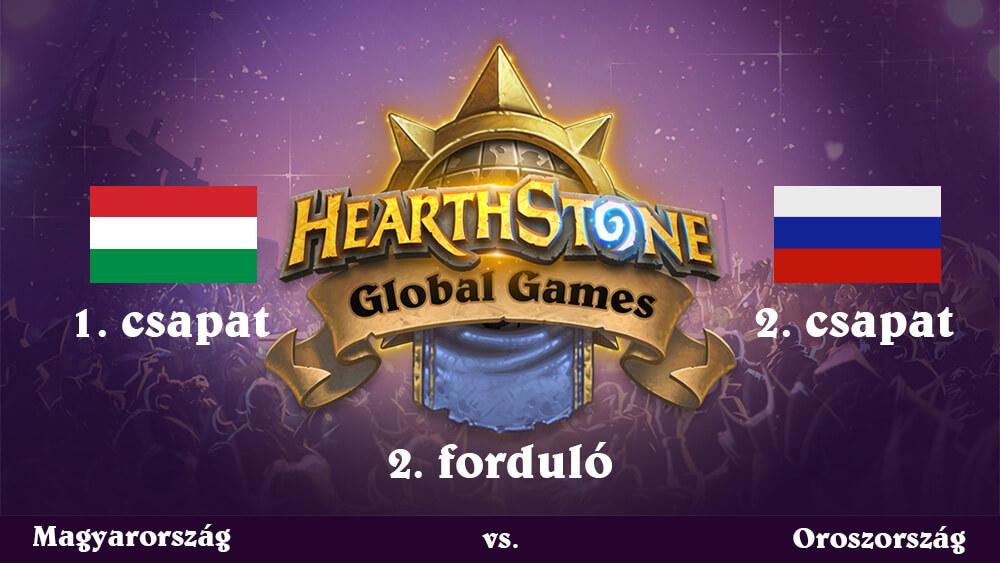 Hearthstone Global Games 2018 (második forduló - frissítve: orosz győzelem)