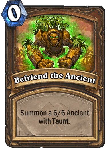 Befriend the Ancient