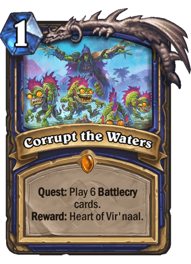 Corrupt the Waters