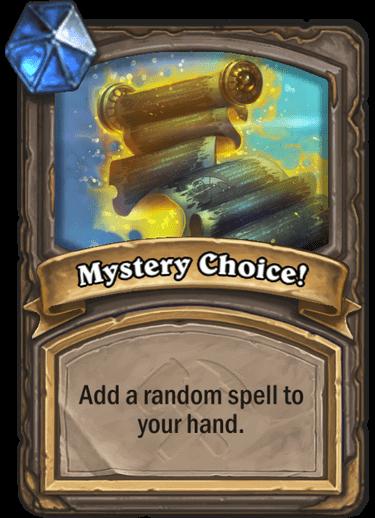 Mystery Choice