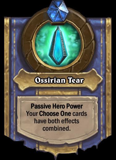 Ossirian Tear