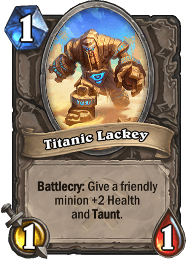 Titanic Lackey
