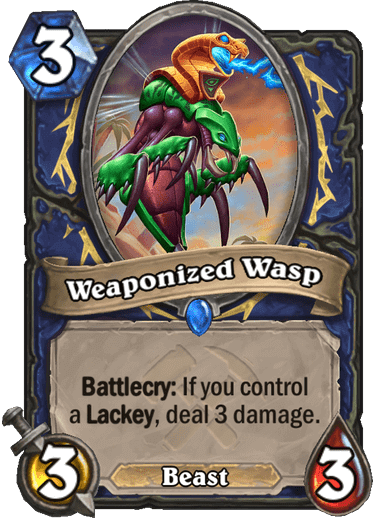 Weaponized Wasp